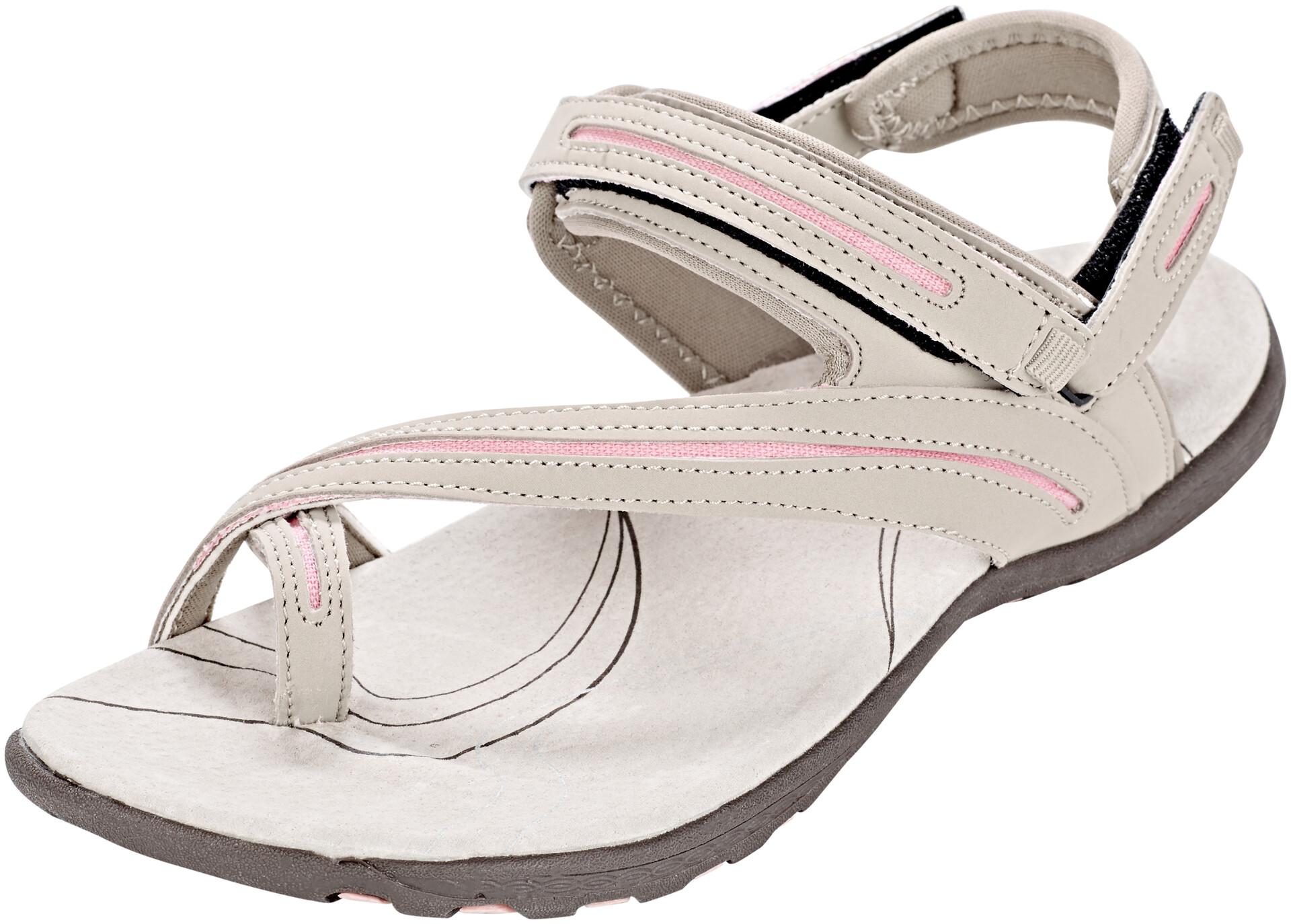 be High Beige Aurora L Colorado Dames Sandalen Campz Outdoor Winkel 7rZgz7n